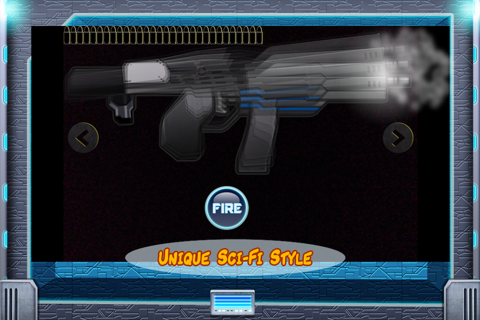 Screenshot Galactic Weapons